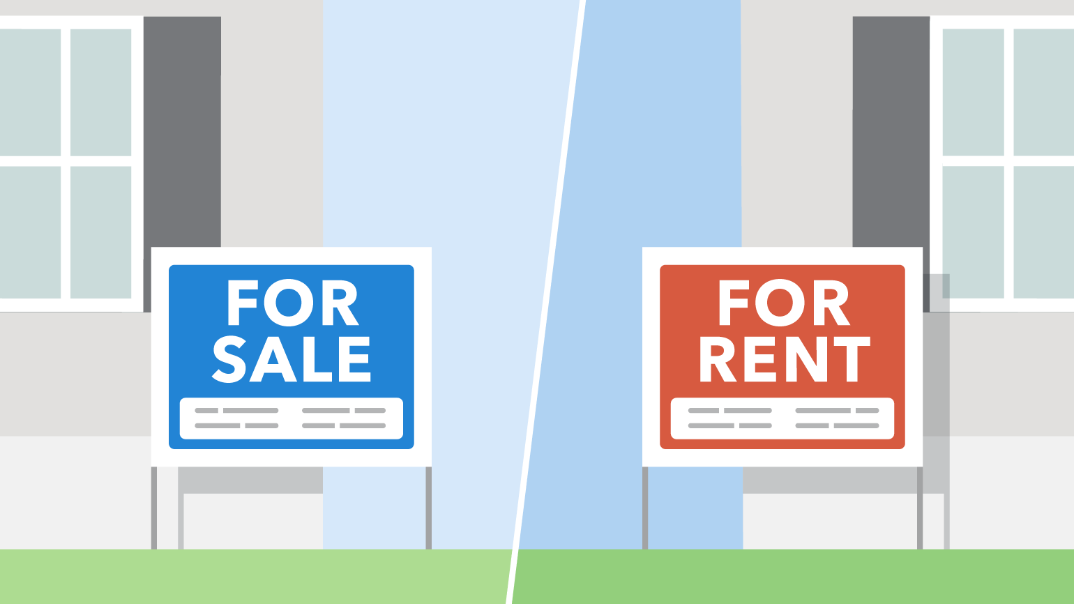 Renting vs. Buying: Why it pays to own property